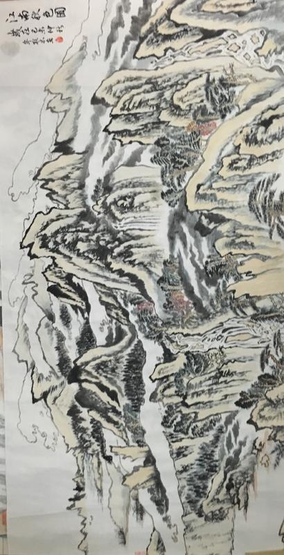 《江南秋色图》