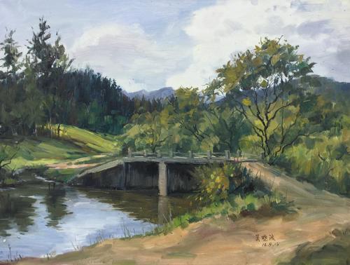 家乡的小桥
