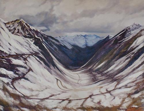 高原系列-雪线