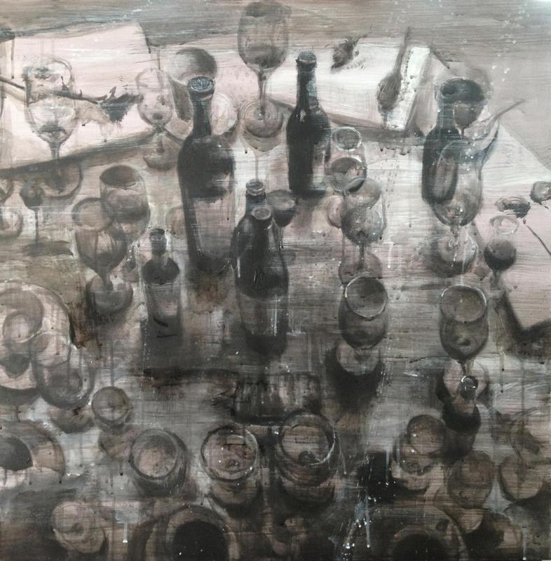 瓶系列之二-墨迹