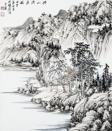 溪山清逸图