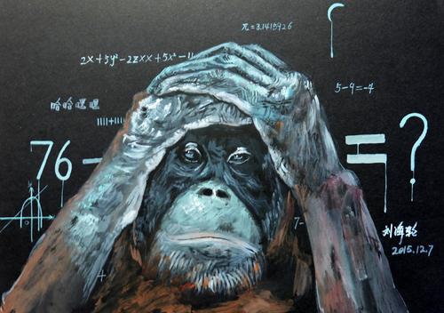 猩猩的疑惑