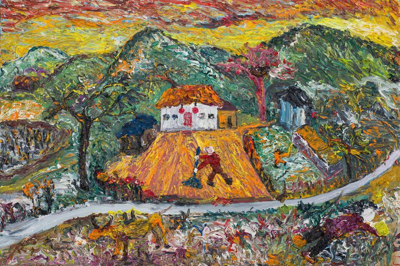 有院子的小房子