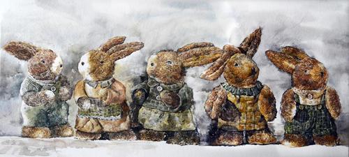 萌萌兔系列之三