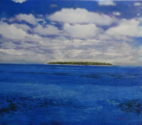 深蓝系列-绿岛