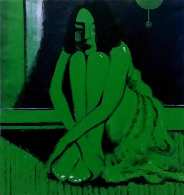 《绿房间之一》